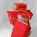 duct tape carboard structure (2007)